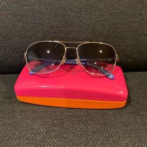 Kate Spade New York Agda Aviator Sunglasses